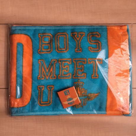 SHINee BOYS MEET U キー タオル&バッジセット/SW2013 ライブグッズの画像