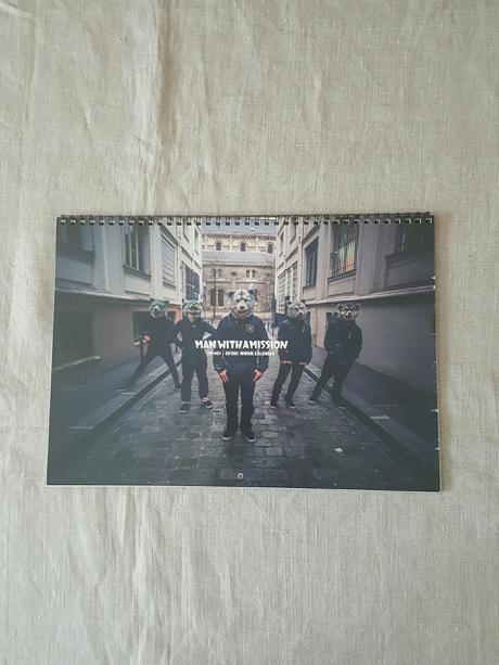 ★MAN WITH A MISSION カレンダー★ ライブグッズの画像