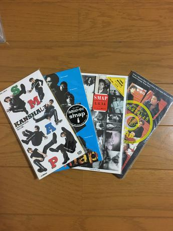 SMAPシングルCDセット4枚 コンサートグッズの画像