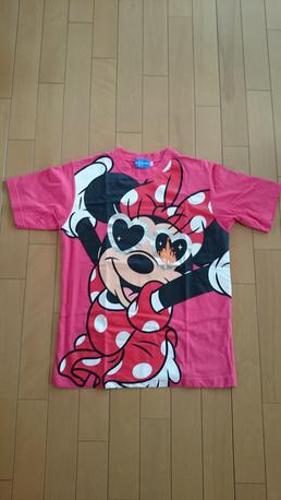 ディズニー ミニーマウス サングラスTシャツ ディズニーグッズの画像