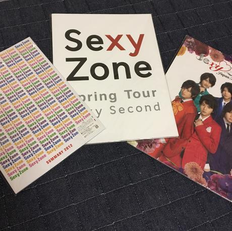 SexyZone パンフレット コンサートグッズの画像