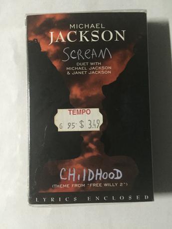 マイケルジャクソン  新品カセット未開封 スクリーム ライブグッズの画像