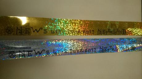 再値下げ♪銀テープフル2本セット(NEWS/NEVERLAND) コンサートグッズの画像