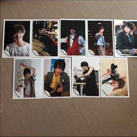 知念侑李 公式写真 コンサートグッズの画像