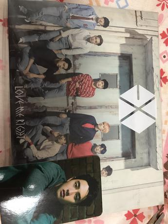 EXO FC限定盤 トレカ付き Love me Right ライブグッズの画像
