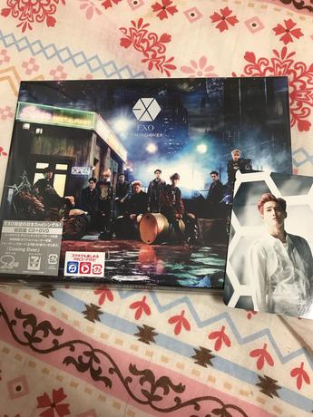 EXO Coming Over 初回限定盤 DVD、トレカ付き ライブグッズの画像