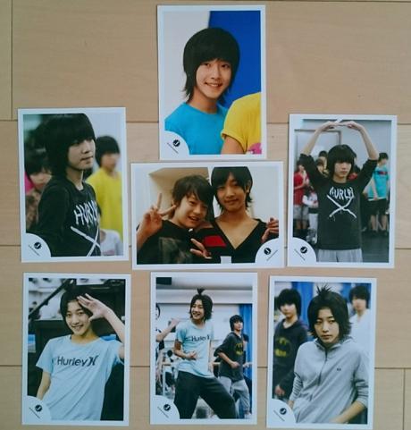 値下げ☆中村嶺亜 ジャニショ公式写真 7枚セット コンサートグッズの画像