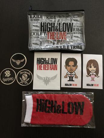 HiGH&LOW ライブグッズの画像