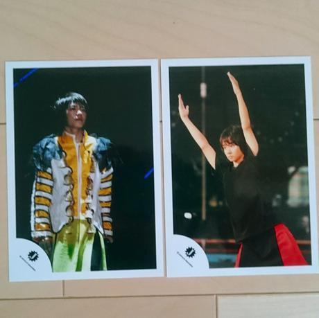2枚組☆中村海人 ジャニショ公式写真 コンサートグッズの画像
