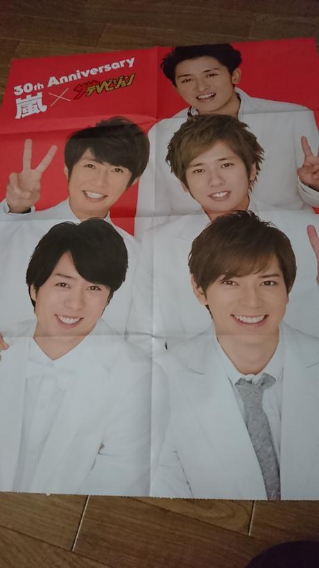 嵐 両面ピンナップポスター2枚 コンサートグッズの画像