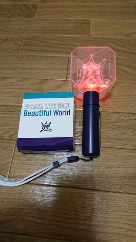 嵐 Beautiful World ペンライト(美品) コンサートグッズの画像