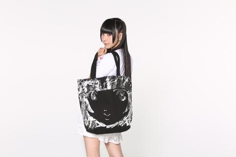 MIKIOSAKABE×でんぱ組.inc×愛☆まどんな トートバッグ 相沢梨紗 ライブグッズの画像