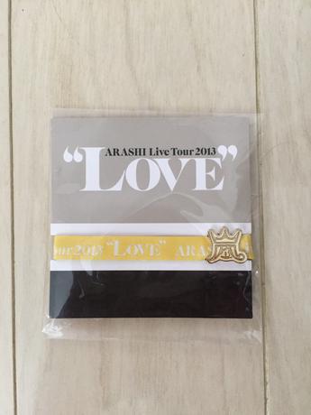 嵐 LOVE グッズ コンサートグッズの画像