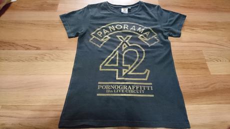 ポルノグラフィティ    PANORAMA×42    ロゴTシャツ ライブグッズの画像