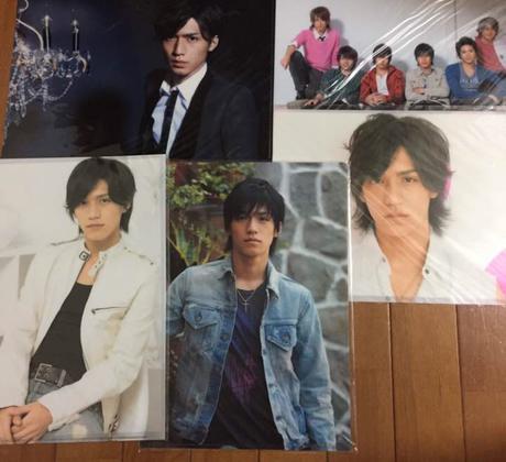 錦戸亮 クリアファイル 6枚セット(NEWS時代と関ジャニ∞1枚) リサイタルグッズの画像