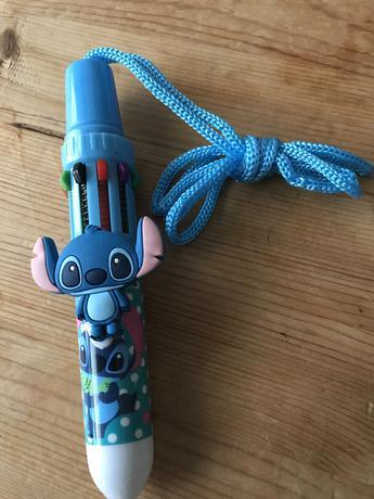スティッチの10色ボールペン ディズニーグッズの画像