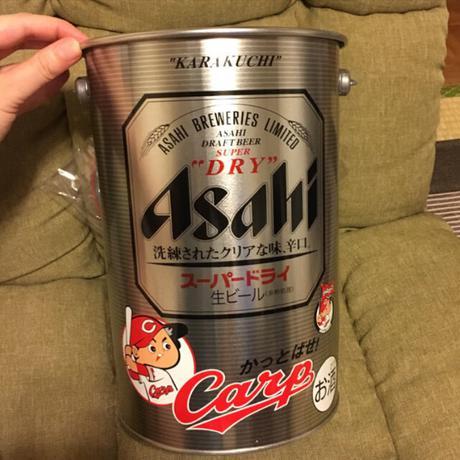 カープ アサヒ ペール缶 グッズの画像