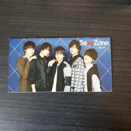 Sexy Zone☆No.17☆会報 コンサートグッズの画像