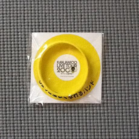 関ジャニ∞ LIVEグッズ マジカルバンド 黄色 リサイタルグッズの画像