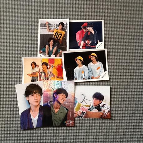 公式写真 錦戸君 リサイタルグッズの画像