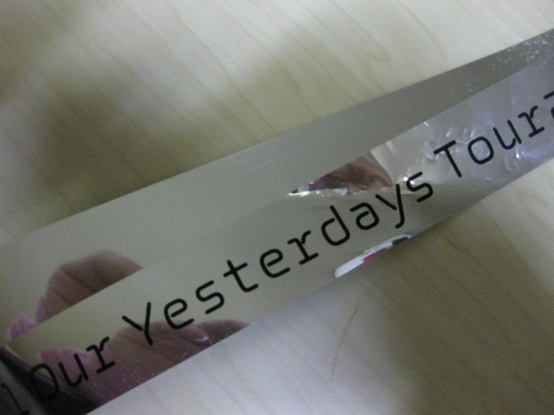 銀テープ ライブグッズの画像