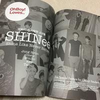 おまけ付き【新品】Oh Boy! No.74 SHINee シャイニー ライブグッズの画像 2枚目