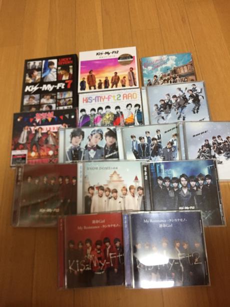 【15点セット】 キスマイ CD DVD グッズの画像