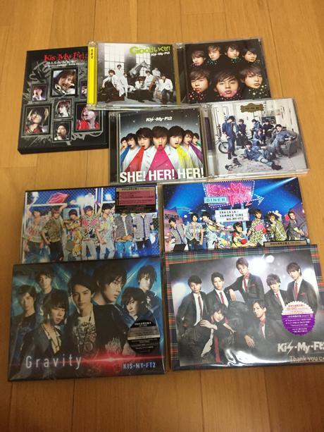 【9点セット】 キスマイ CD DVD グッズの画像