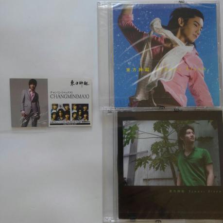 東方神起チャンミン激レア 名刺交換会、タッチ会限定CD ライブグッズの画像