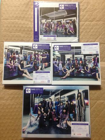 乃木坂46 3rdアルバム 初回生産限定盤+Type-A,B+通常盤 4枚セット ライブ・握手会グッズの画像