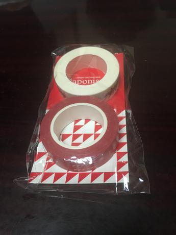 嵐 ハート♥️おまけ付き マスキングテープ赤 コンサートグッズの画像