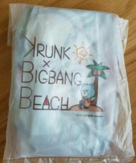 BIGBANG非売品未開封 ビーチボール ライブグッズの画像