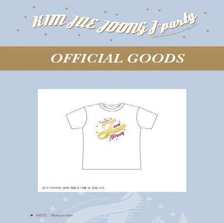 JYJ キム・ジェジュン 2015 公式コンサートグッズ 韓国 Tシャツ グッズの画像