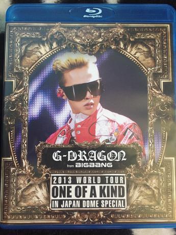 BIGBANG Blu-ray ライブグッズの画像