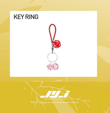 JYJ XIA 3RD 2015 ASIA TOUR Key Ring ライブグッズの画像