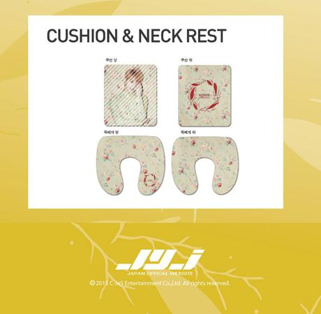 JYJ XIA 3RD 2015 ASIA TOUR CUSHION NECK ライブグッズの画像