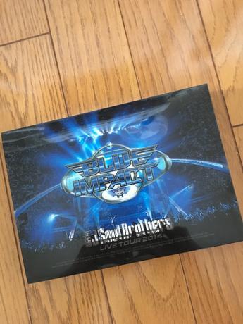 三代目 JSB LIVE TOUR 2014「BLUE IMPACT」DVD ライブグッズの画像