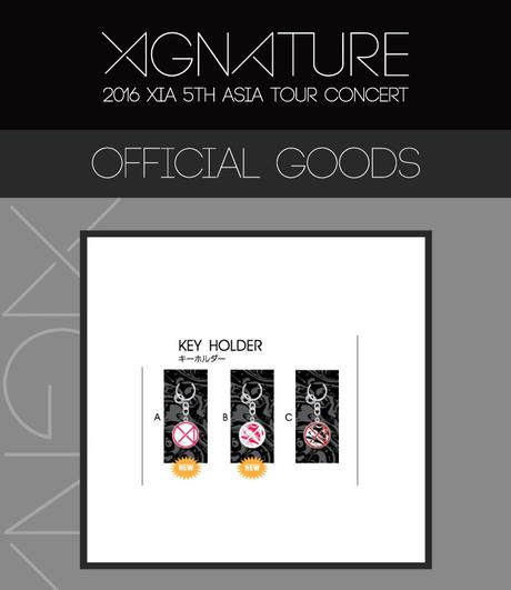 JYJ 2016 XIGNATURE XIA KEY HOLDER (B) ライブグッズの画像