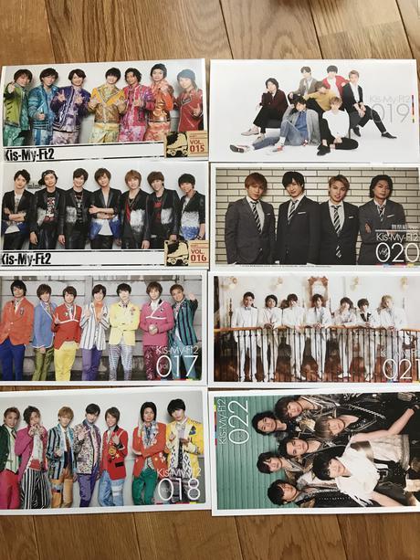キスマイ 会報vol.15~22 コンサートグッズの画像