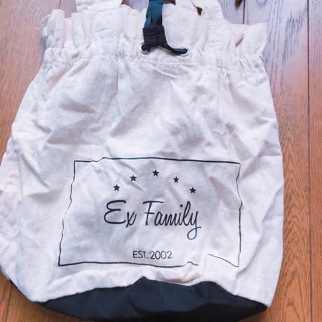 EXILE FAMILY バック ライブグッズの画像