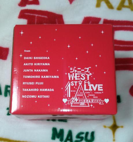 ジャニーズWEST 24から感謝届けます マグカップ コンサートグッズの画像