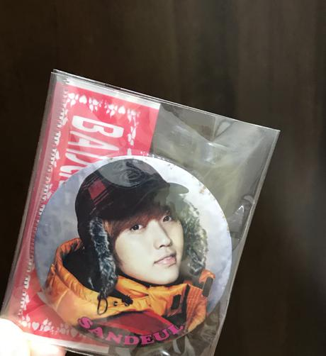 B1A4 サンドゥルバッチ ライブグッズの画像