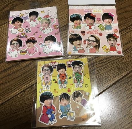 B1A4 シール ライブグッズの画像