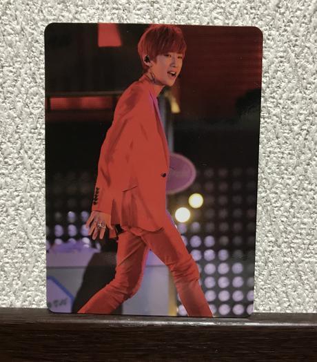 B1A4  ジニョン トレカ ライブグッズの画像