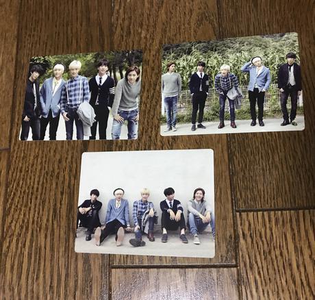 B1A4 トレカ ライブグッズの画像