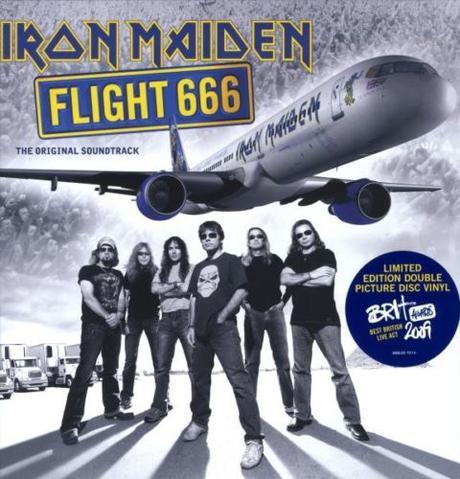 アイアン・メイデン / Flight 666 (Picture Disc) 限定 コンサートグッズの画像