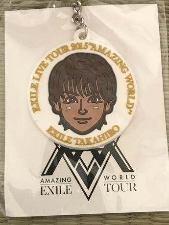 EXILE TAKAHIRO 似顔絵チャーム ライブグッズの画像