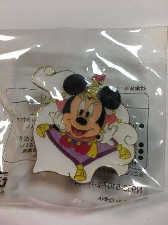 ミニーマウス ピンバッチ グッズの画像