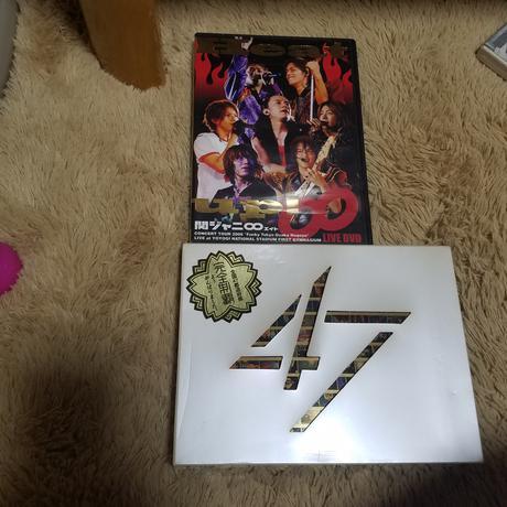 関ジャニ∞初回盤含む二枚セット リサイタルグッズの画像