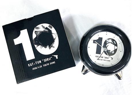 新品!アラームクロック 時計 10Ks! 名古屋 KAT-TUN 10周年 コンサートグッズの画像
